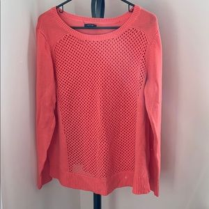 Apt 9 coral sweater